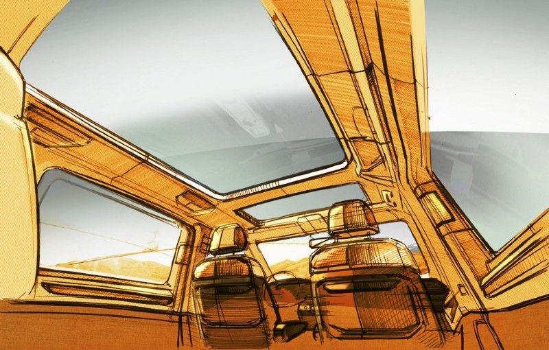 Teaser nou pentru viitorul Volkswagen Multivan: interior versatil și plafon panoramic de dimensiuni considerabile - Poza 1