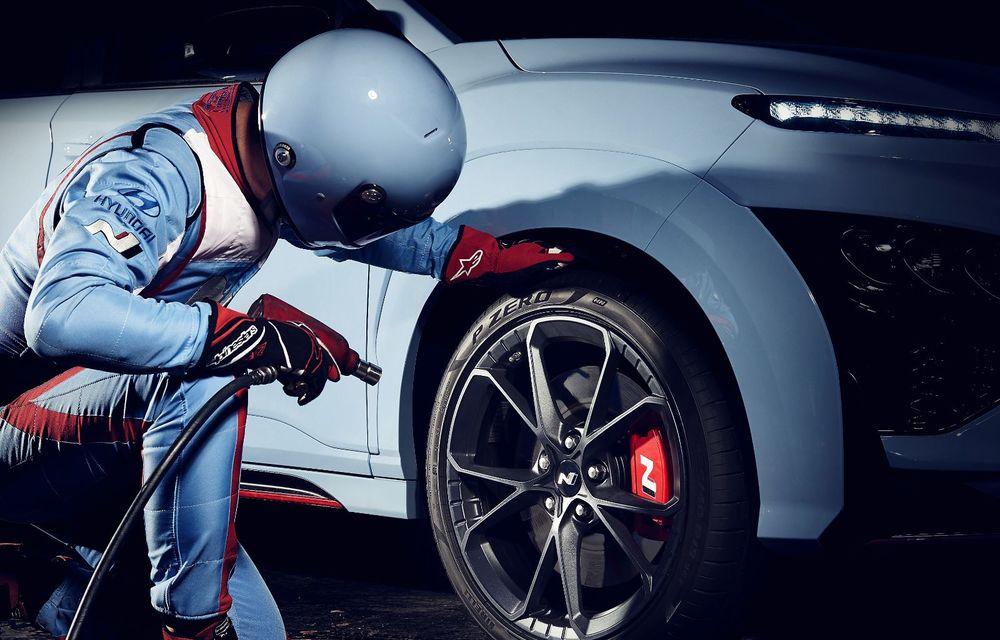 Hyundai prezintă primul său SUV de performanță: Kona N are motor de 2.0 litri turbo cu 280 CP și 392 Nm - Poza 14