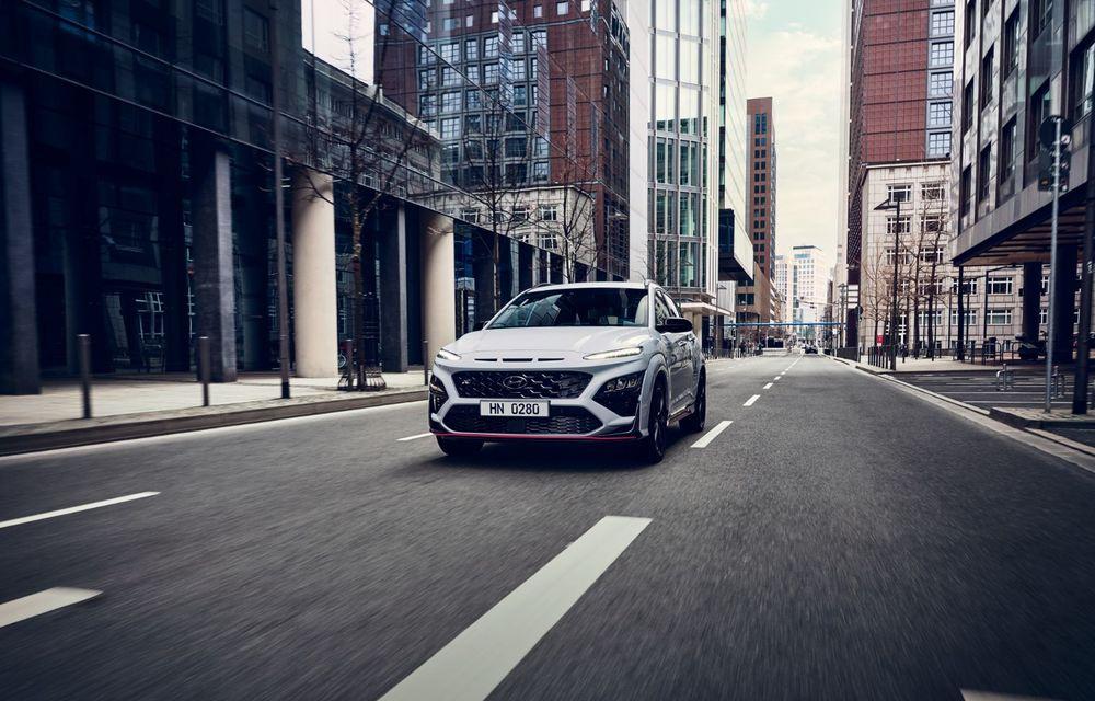 Hyundai prezintă primul său SUV de performanță: Kona N are motor de 2.0 litri turbo cu 280 CP și 392 Nm - Poza 2