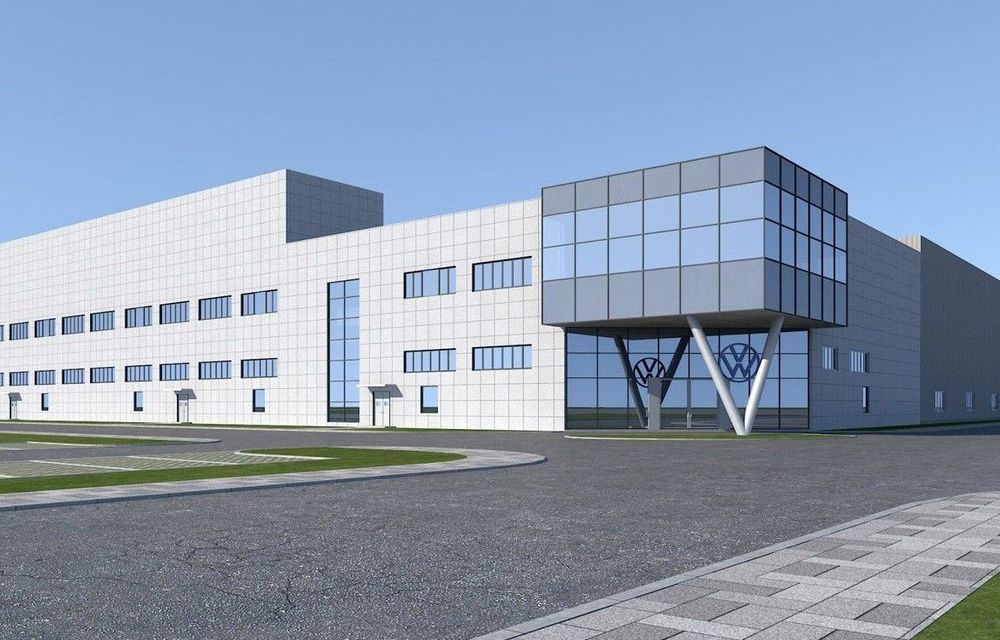 Volkswagen a început construcția unei noi fabrici de mașini electrice în China - Poza 1