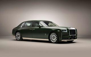 Rolls-Royce și casa Hermes au colaborat pentru un Phantom unicat, comandat de un client din Japonia
