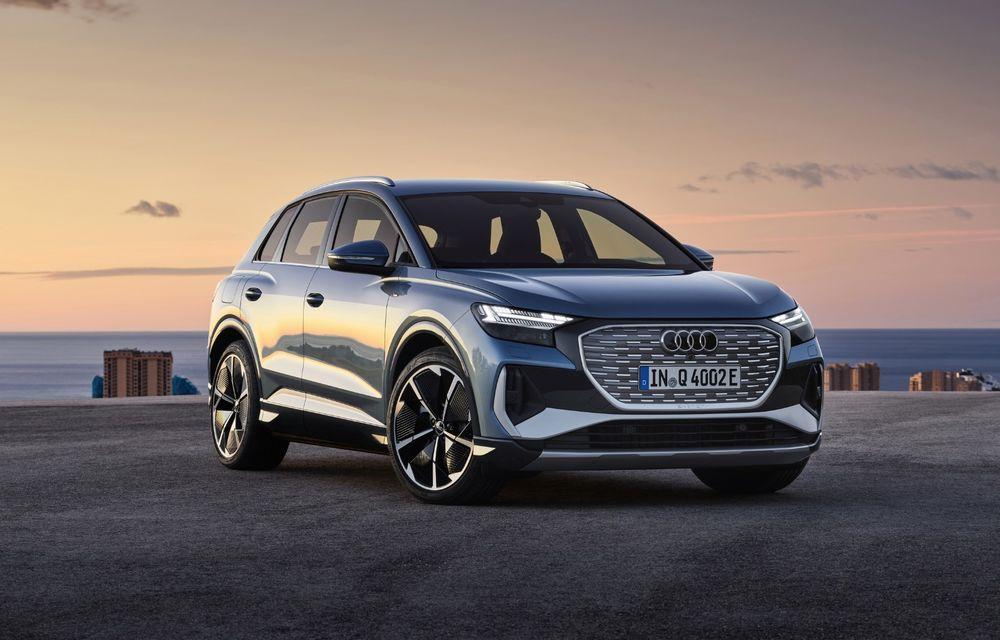 Prețuri Audi Q4 e-tron în România: SUV-ul electric pornește de la 45.700 de euro - Poza 1