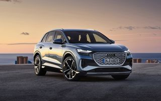 Prețuri Audi Q4 e-tron în România: SUV-ul electric pornește de la 45.700 de euro