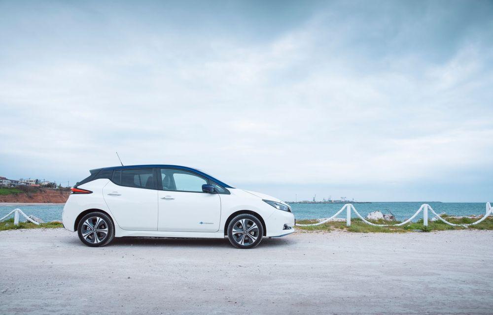 Am dat startul sezonului estival cu electricul Nissan Leaf: de la Vama Veche până în cel mai mare parc eolian din Europa - Poza 11