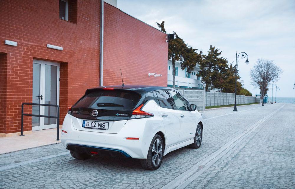 Am dat startul sezonului estival cu electricul Nissan Leaf: de la Vama Veche până în cel mai mare parc eolian din Europa - Poza 12