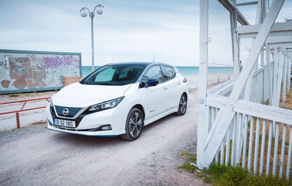 Am dat startul sezonului estival cu electricul Nissan Leaf: de la Vama Veche până în cel mai mare parc eolian din Europa - Poza 3