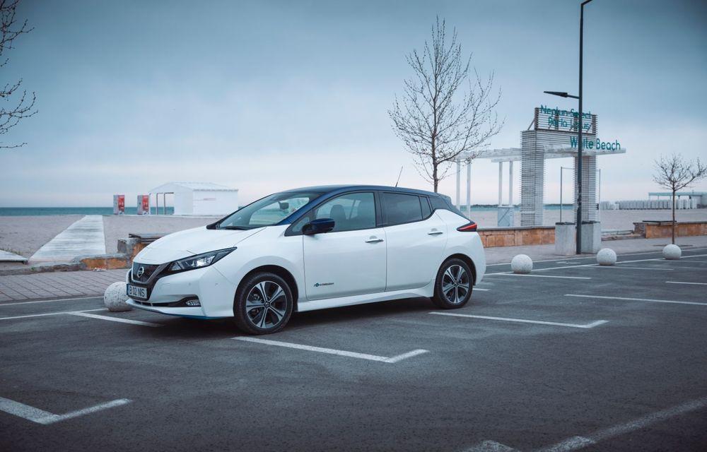 Am dat startul sezonului estival cu electricul Nissan Leaf: de la Vama Veche până în cel mai mare parc eolian din Europa - Poza 2