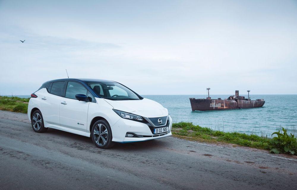 Am dat startul sezonului estival cu electricul Nissan Leaf: de la Vama Veche până în cel mai mare parc eolian din Europa - Poza 15