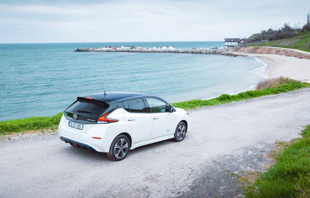 Am dat startul sezonului estival cu electricul Nissan Leaf: de la Vama Veche până în cel mai mare parc eolian din Europa - Poza 8