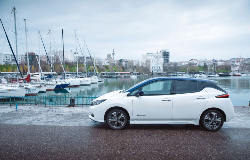 Am dat startul sezonului estival cu electricul Nissan Leaf: de la Vama Veche până în cel mai mare parc eolian din Europa - Poza 16