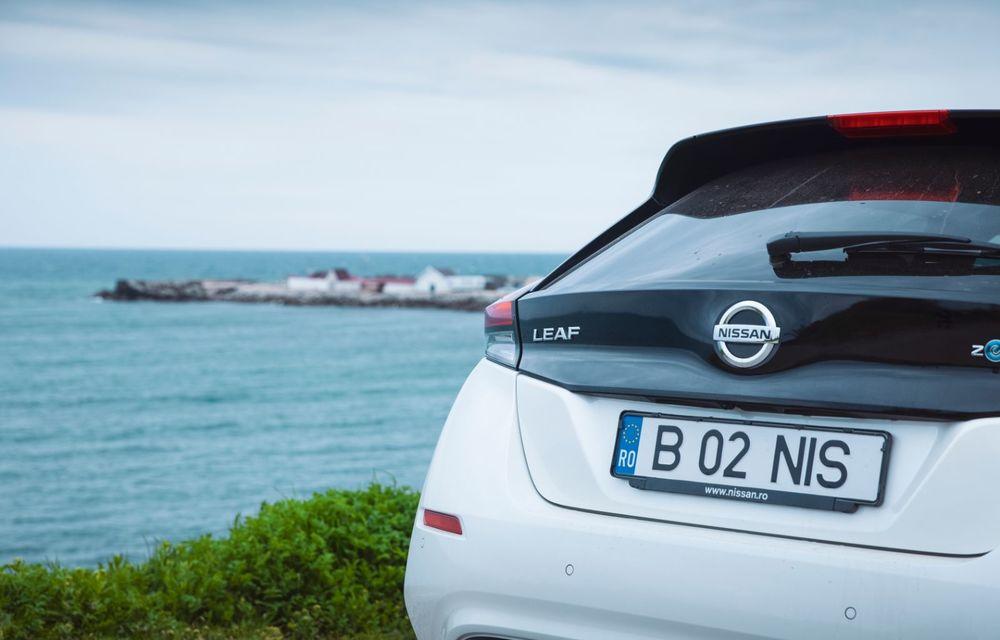 Am dat startul sezonului estival cu electricul Nissan Leaf: de la Vama Veche până în cel mai mare parc eolian din Europa - Poza 9