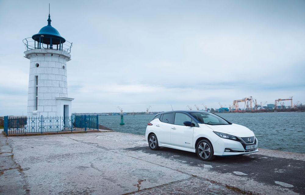 Am dat startul sezonului estival cu electricul Nissan Leaf: de la Vama Veche până în cel mai mare parc eolian din Europa - Poza 14