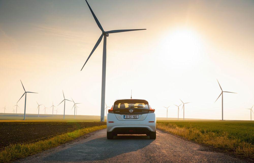 Am dat startul sezonului estival cu electricul Nissan Leaf: de la Vama Veche până în cel mai mare parc eolian din Europa - Poza 33