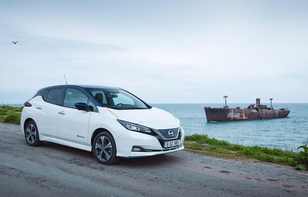 Am dat startul sezonului estival cu electricul Nissan Leaf: de la Vama Veche până în cel mai mare parc eolian din Europa - Poza 1