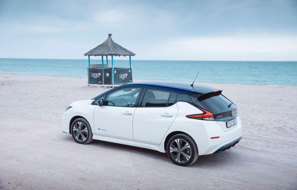 Am dat startul sezonului estival cu electricul Nissan Leaf: de la Vama Veche până în cel mai mare parc eolian din Europa - Poza 6