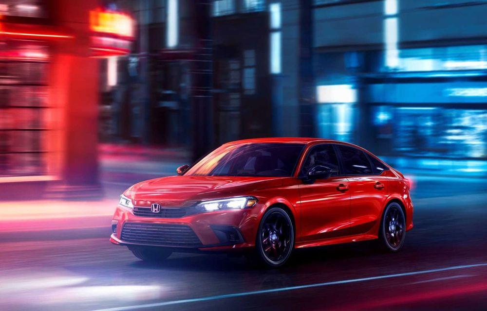 Noua generație Honda Civic debutează cu un design nou, interior elegant și mai multă tehnologie - Poza 2