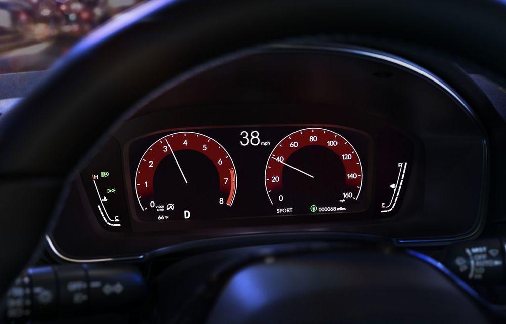 Noua generație Honda Civic debutează cu un design nou, interior elegant și mai multă tehnologie - Poza 14