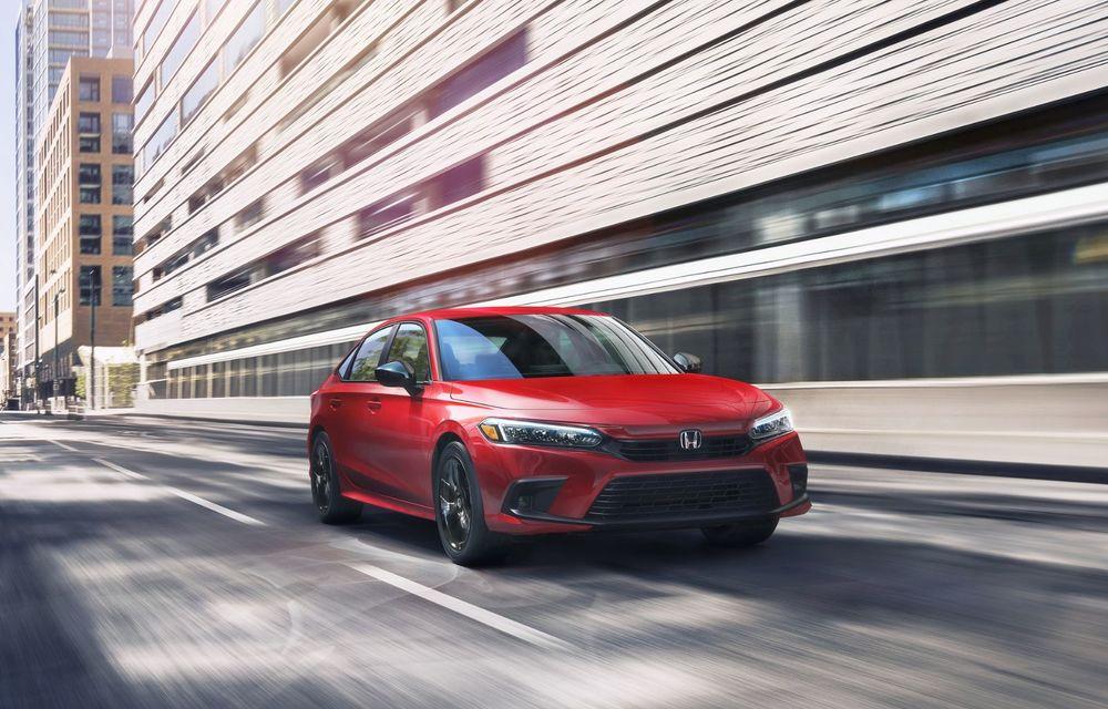 Noua generație Honda Civic debutează cu un design nou, interior elegant și mai multă tehnologie - Poza 3