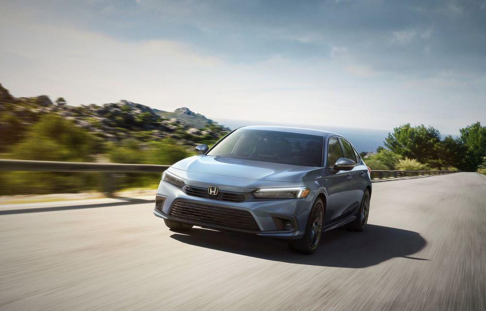 Noua generație Honda Civic debutează cu un design nou, interior elegant și mai multă tehnologie - Poza 5