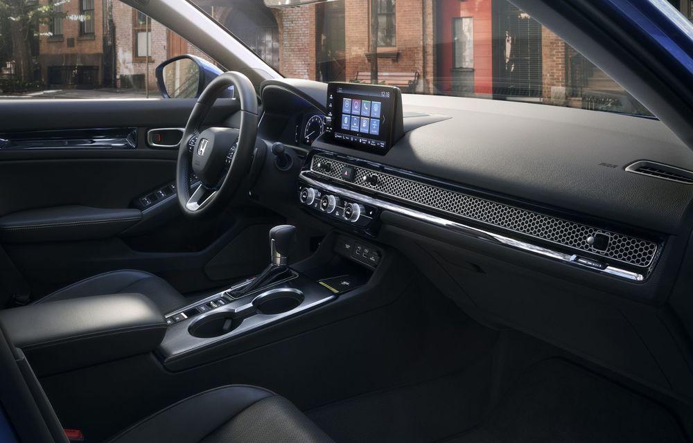 Noua generație Honda Civic debutează cu un design nou, interior elegant și mai multă tehnologie - Poza 12