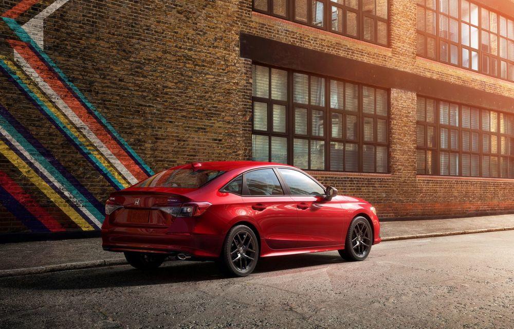Noua generație Honda Civic debutează cu un design nou, interior elegant și mai multă tehnologie - Poza 9