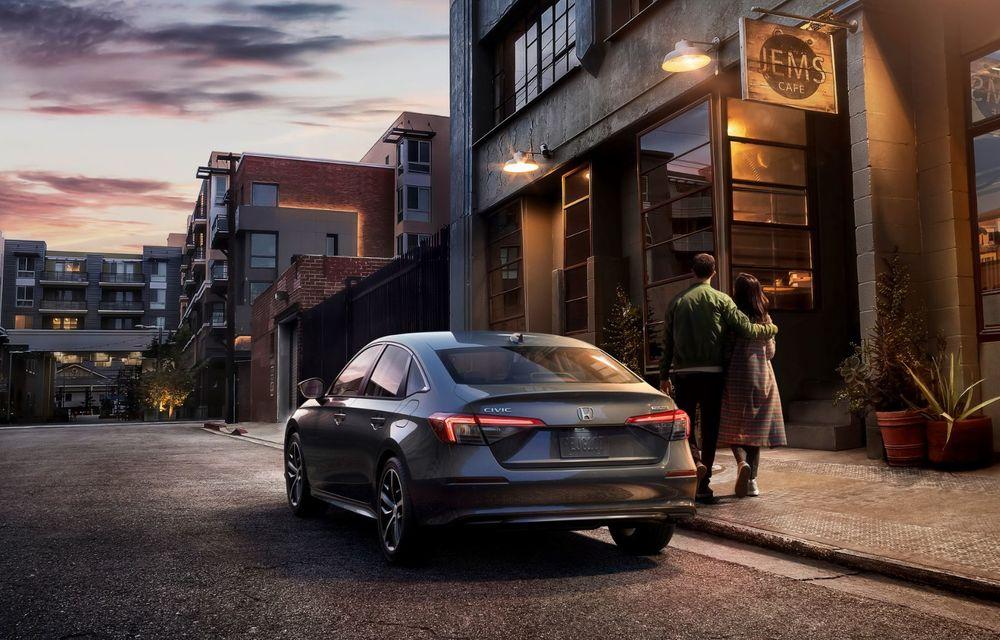 Noua generație Honda Civic debutează cu un design nou, interior elegant și mai multă tehnologie - Poza 7