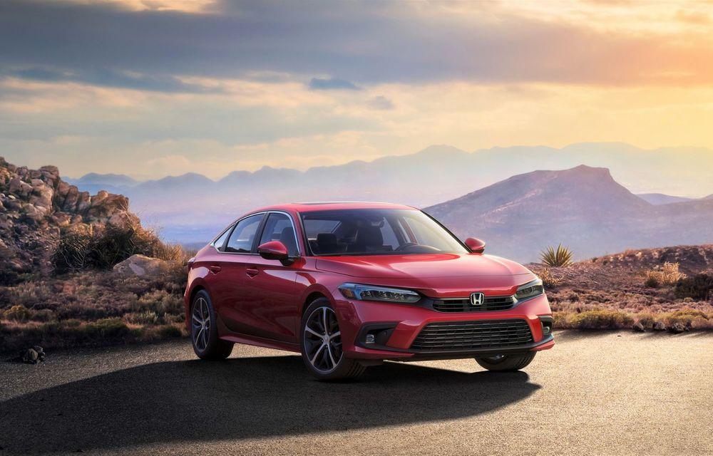 Noua generație Honda Civic debutează cu un design nou, interior elegant și mai multă tehnologie - Poza 1