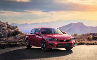Noua generație Honda Civic debutează cu un design nou, interior elegant și mai multă tehnologie