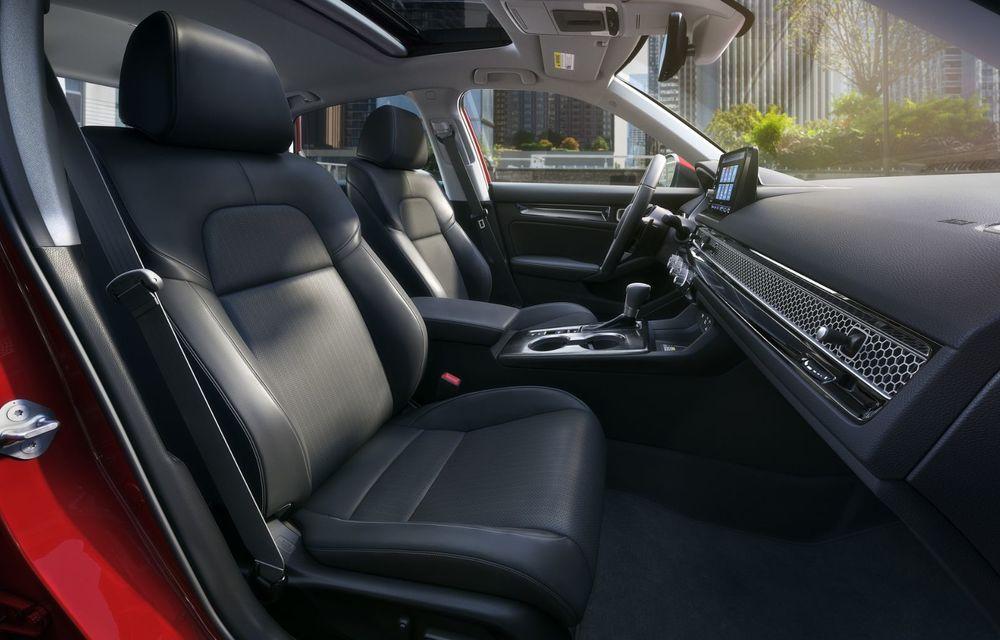 Noua generație Honda Civic debutează cu un design nou, interior elegant și mai multă tehnologie - Poza 11
