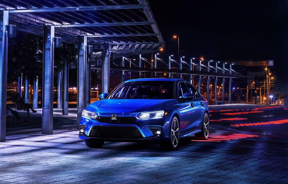Noua generație Honda Civic debutează cu un design nou, interior elegant și mai multă tehnologie - Poza 4