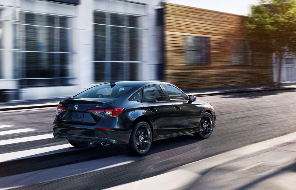 Noua generație Honda Civic debutează cu un design nou, interior elegant și mai multă tehnologie - Poza 8