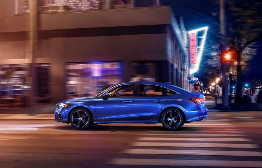 Noua generație Honda Civic debutează cu un design nou, interior elegant și mai multă tehnologie - Poza 6