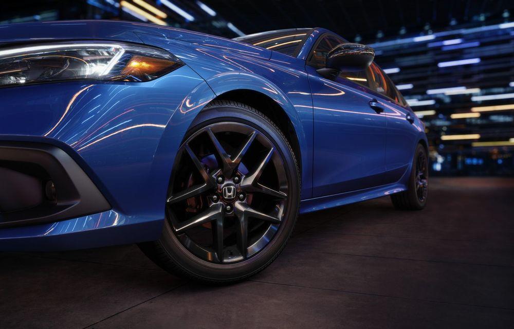 Noua generație Honda Civic debutează cu un design nou, interior elegant și mai multă tehnologie - Poza 15