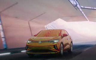 Noul ID.5 apare într-un teaser publicat de Volkswagen. Varianta coupe a lui ID.4 va avea și versiune GTX