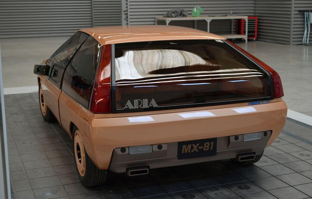 Mazda a restaurat conceptul MX-81, primul model al niponilor care a purtat denumirea MX - Poza 20