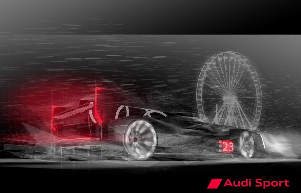 Audi revine la Le Mans, în 2023, cu un prototip electrificat, dezvoltat împreună cu Porsche - Poza 1