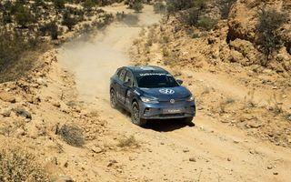 Volkswagen ID.4 a terminat cu succes o cursă de off-road desfășurată pe 1.352 de kilometri