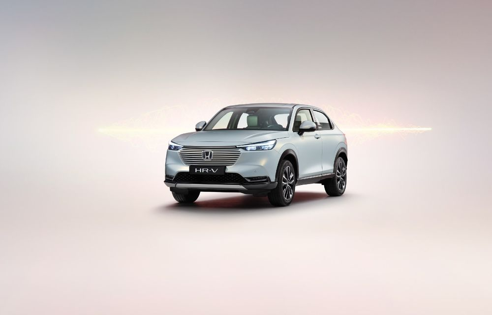 Noua generație Honda HR-V va fi disponibilă doar cu sistem hibrid de propulsie în Europa - Poza 1