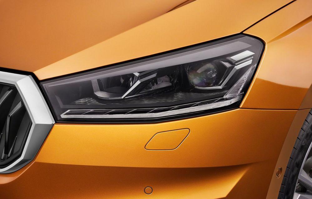 Noua generație Skoda Fabia: faruri full LED, ecran de 9 inch, instrumentar de bord digital, niciun motor diesel - Poza 6