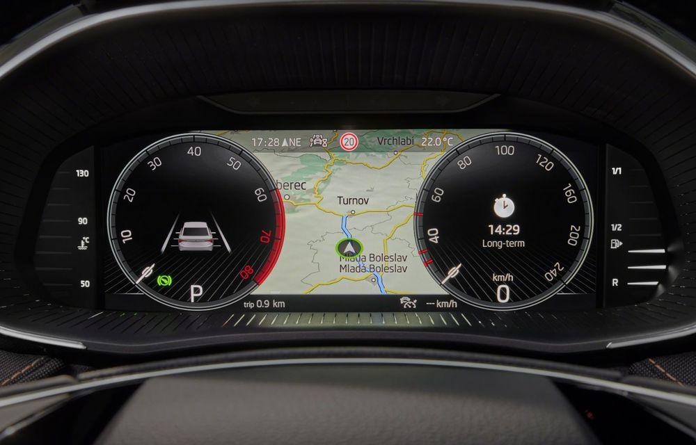 Noua generație Skoda Fabia: faruri full LED, ecran de 9 inch, instrumentar de bord digital, niciun motor diesel - Poza 19