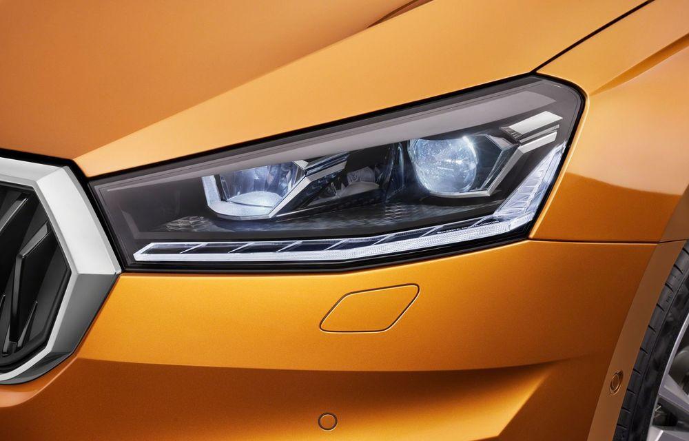Noua generație Skoda Fabia: faruri full LED, ecran de 9 inch, instrumentar de bord digital, niciun motor diesel - Poza 7