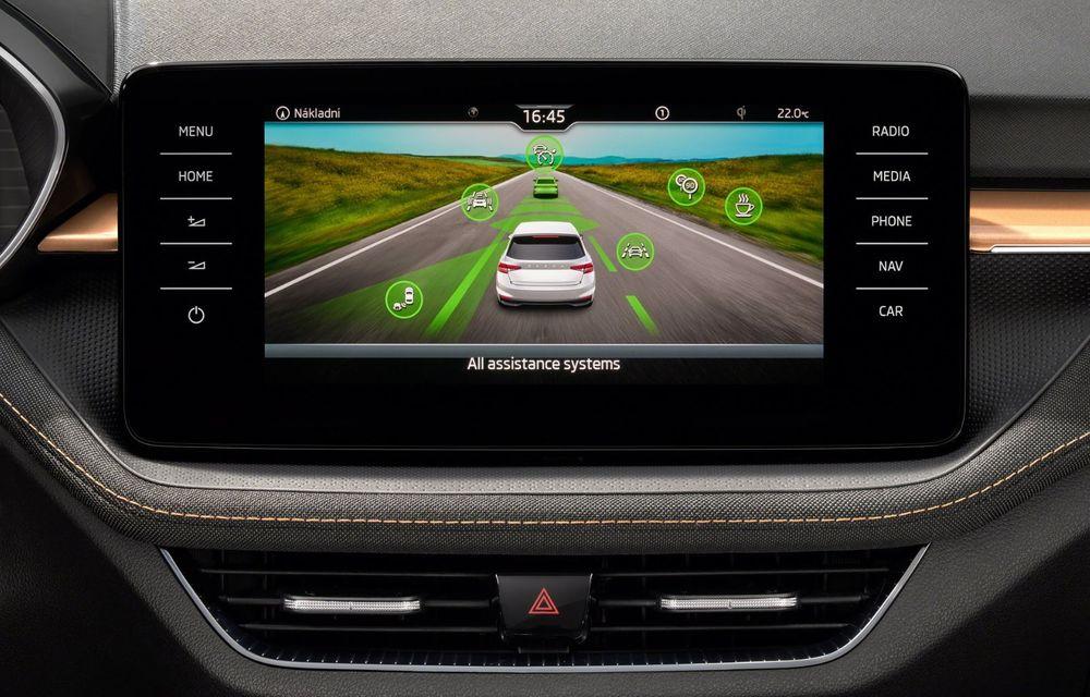 Noua generație Skoda Fabia: faruri full LED, ecran de 9 inch, instrumentar de bord digital, niciun motor diesel - Poza 22