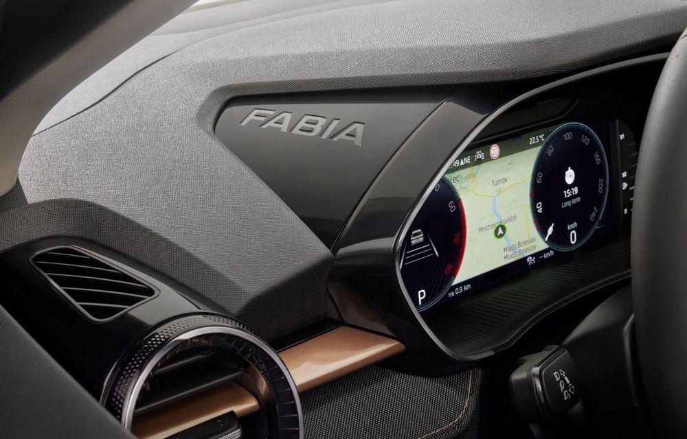 Noua generație Skoda Fabia: faruri full LED, ecran de 9 inch, instrumentar de bord digital, niciun motor diesel - Poza 24