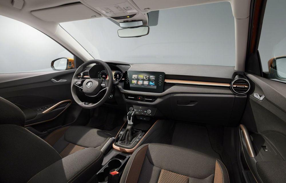 Noua generație Skoda Fabia: faruri full LED, ecran de 9 inch, instrumentar de bord digital, niciun motor diesel - Poza 14