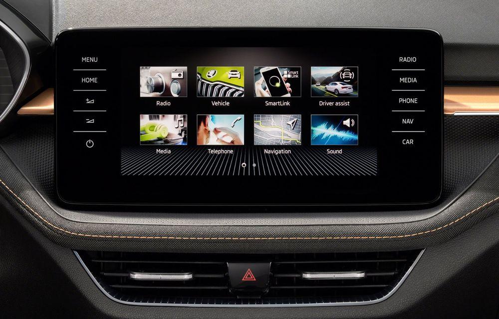 Noua generație Skoda Fabia: faruri full LED, ecran de 9 inch, instrumentar de bord digital, niciun motor diesel - Poza 21