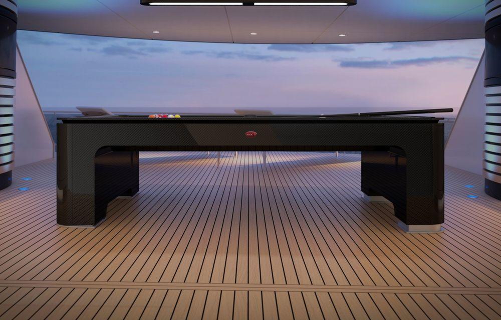 Bugatti lansează o masă de biliard, fabricată din aluminiu și carbon. Costă 250.000 de euro - Poza 2