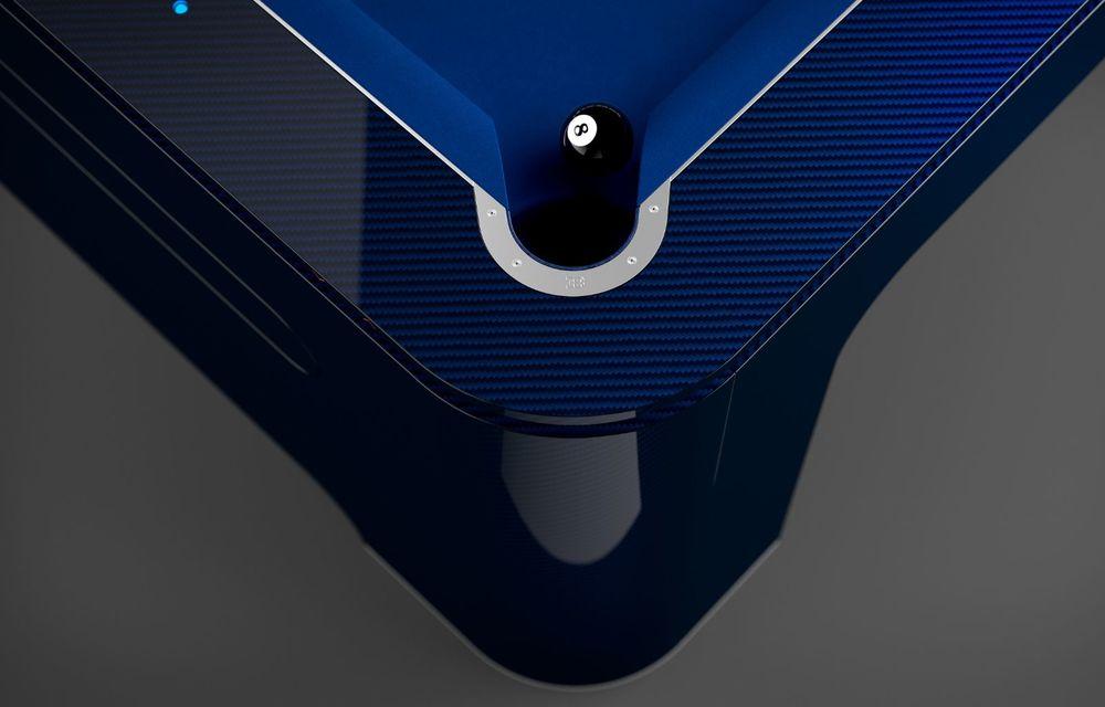 Bugatti lansează o masă de biliard, fabricată din aluminiu și carbon. Costă 250.000 de euro - Poza 5