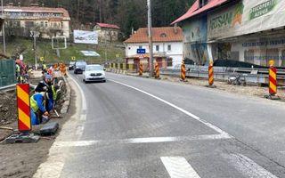 Încep lucrările pe Valea Prahovei: trafic restricționat la Azuga până la sfârșitul anului