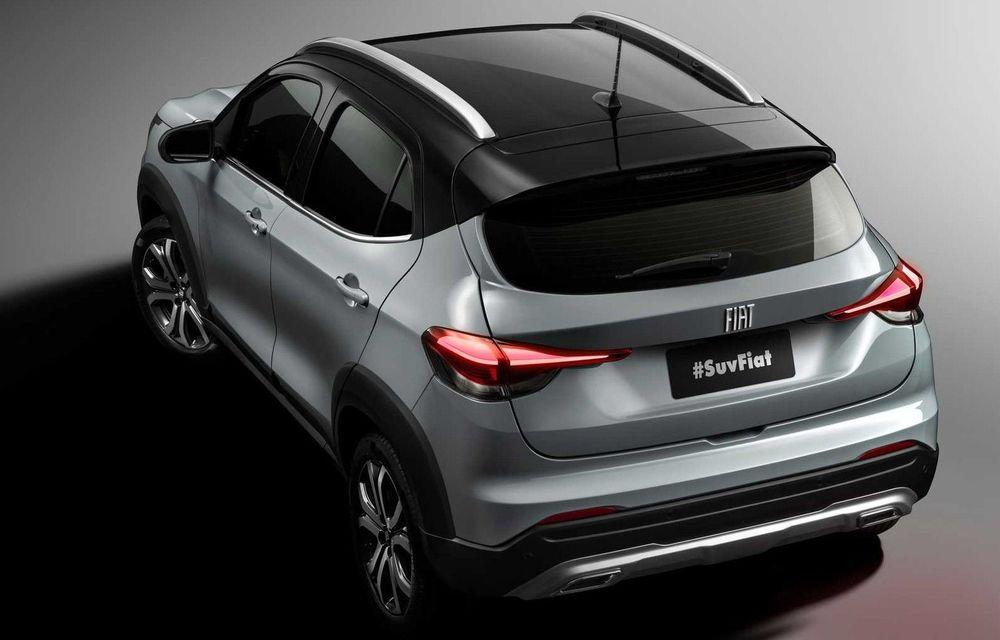 Fiat prezintă un SUV nou pentru piața din Brazilia: numele modelului va fi ales de clienți - Poza 2