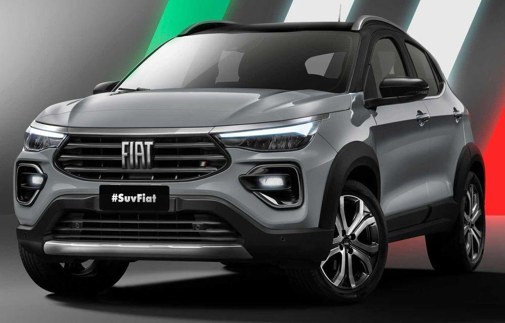Fiat prezintă un SUV nou pentru piața din Brazilia: numele modelului va fi ales de clienți - Poza 1
